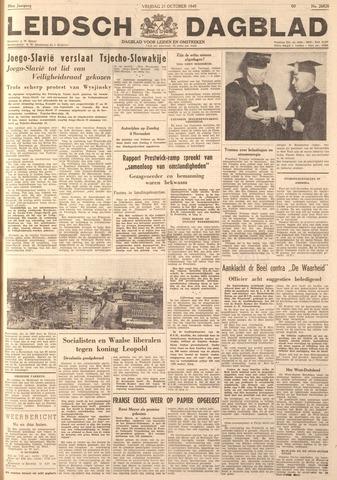 Leidsch Dagblad 1949-10-21