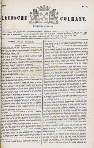 Leydse Courant 1879-03-25