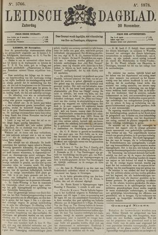 Leidsch Dagblad 1878-11-30