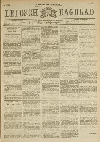 Leidsch Dagblad 1904-02-29