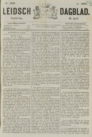 Leidsch Dagblad 1869-04-22