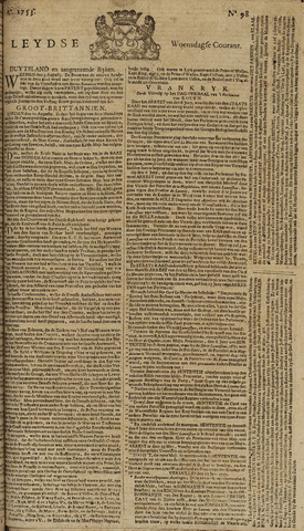 Leydse Courant 1753-08-15