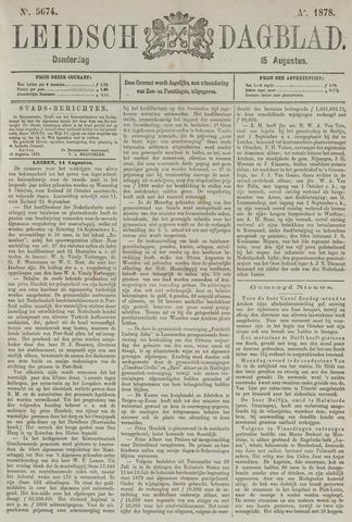 Leidsch Dagblad 1878-08-15