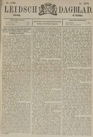 Leidsch Dagblad 1878-10-15
