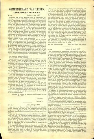Handelingen van de Raad 1897-05-06