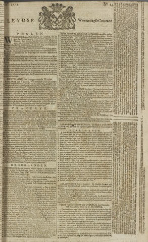 Leydse Courant 1772-01-22