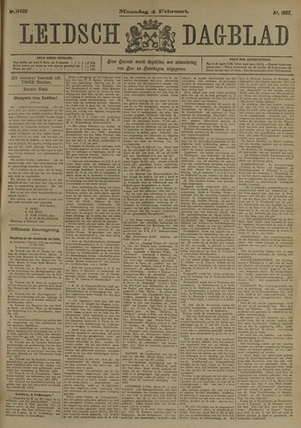 Leidsch Dagblad 1907-02-04