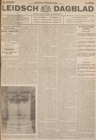 Leidsch Dagblad 1928-02-07