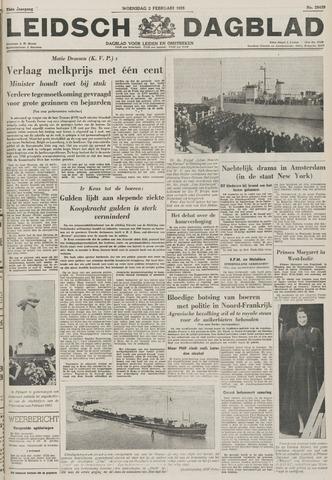 Leidsch Dagblad 1955-02-02