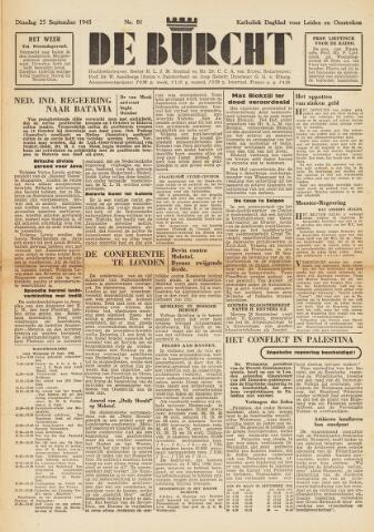 De Burcht 1945-09-25