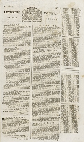 Leydse Courant 1826-05-08