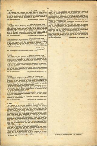 Handelingen van de Raad 1879-11-26