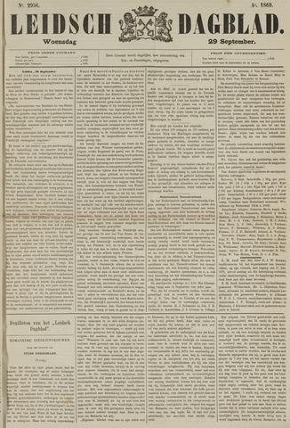 Leidsch Dagblad 1869-09-29