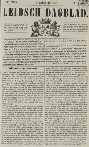 Leidsch Dagblad 1866-05-29