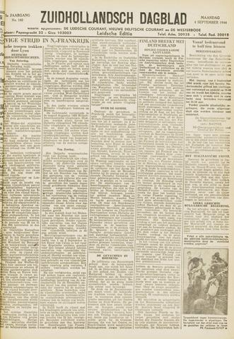 Zuidhollandsch Dagblad 1944-09-04