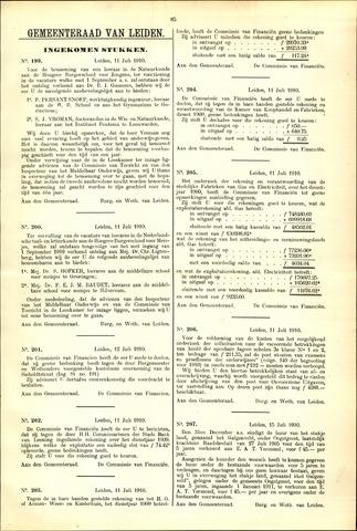 Handelingen van de Raad 1910-07-11