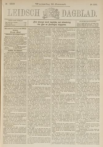 Leidsch Dagblad 1893-01-11