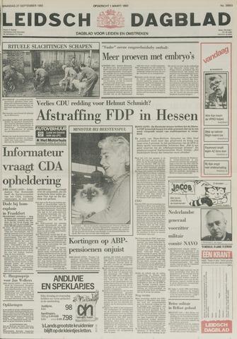 Leidsch Dagblad 1982-09-27