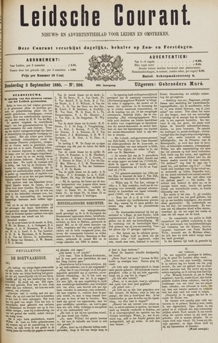 Leydse Courant 1885-09-03