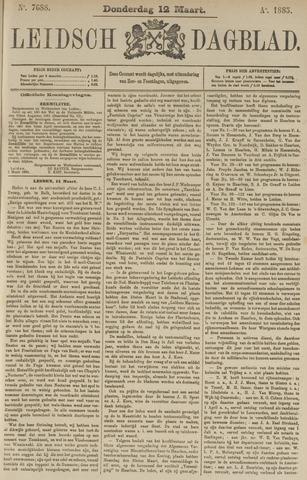 Leidsch Dagblad 1885-03-12