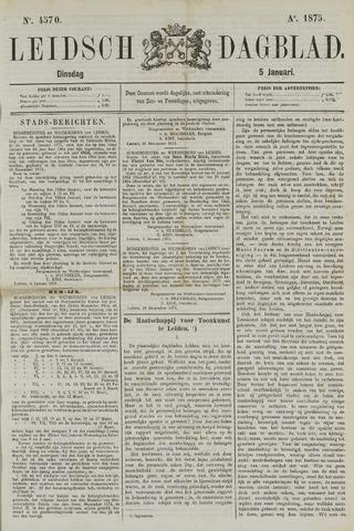 Leidsch Dagblad 1875-01-05