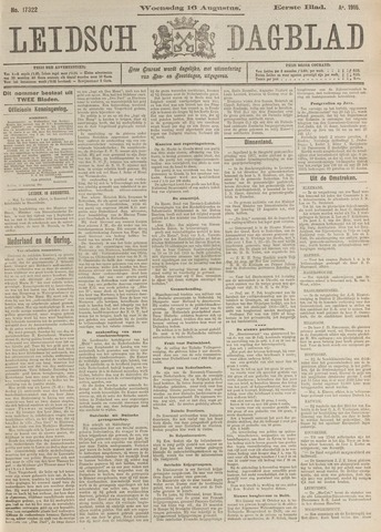 Leidsch Dagblad 1916-08-16