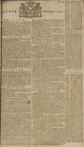 Leydse Courant 1771-07-29