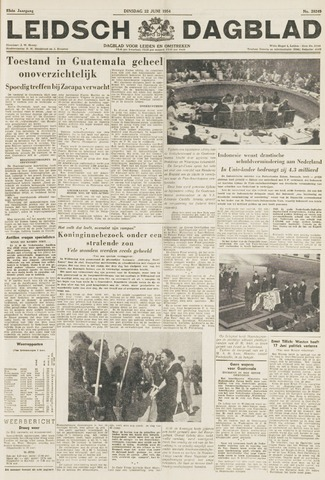 Leidsch Dagblad 1954-06-22