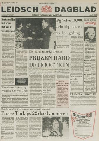 Leidsch Dagblad 1980-08-09