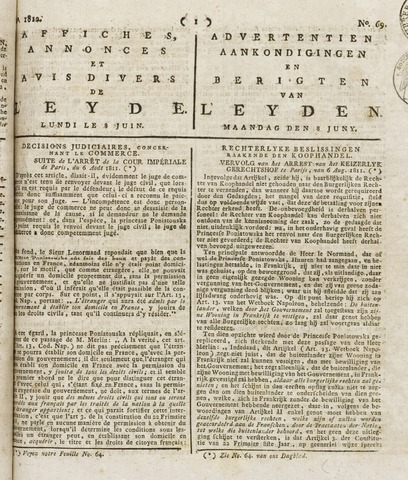 Leydse Courant 1812-06-08