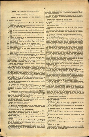 Handelingen van de Raad 1886-12-09