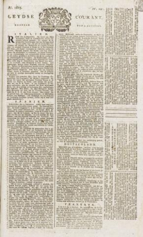 Leydse Courant 1815-10-09