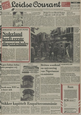 Leidse Courant 1984-07-06