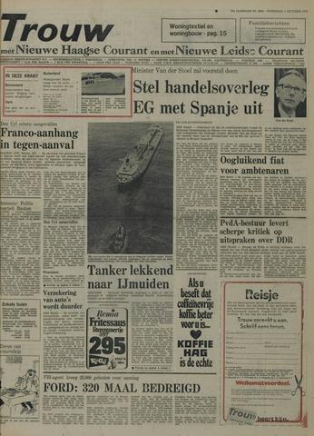 Nieuwe Leidsche Courant 1975-10-01