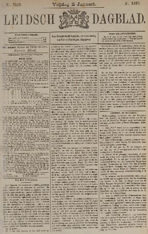 Leidsch Dagblad 1885