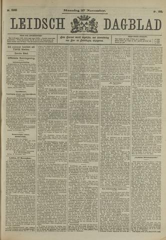 Leidsch Dagblad 1911-11-27