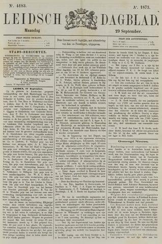 Leidsch Dagblad 1873-09-29