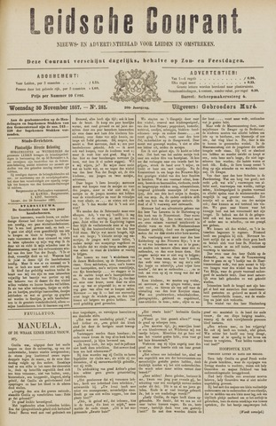 Leydse Courant 1887-11-30