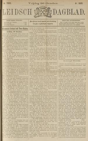 Leidsch Dagblad 1885-10-30