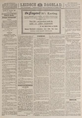 Leidsch Dagblad 1919-09-20