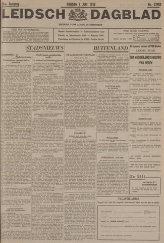 Leidsch Dagblad 1938-06-07