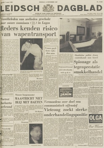 Leidsch Dagblad 1967-11-14