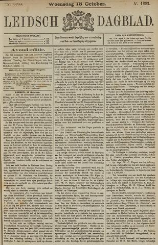 Leidsch Dagblad 1882-10-18