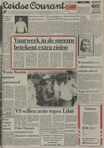 Leidse Courant 1985-12-31