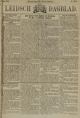 Leidsch Dagblad 1890-11-17