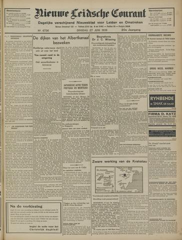 Nieuwe Leidsche Courant 1939-06-27