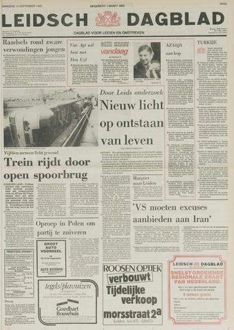 Leidsch Dagblad 1980-09-15