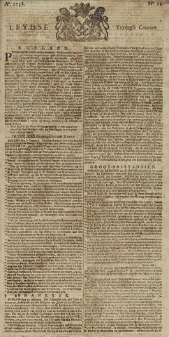 Leydse Courant 1758-01-27