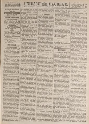 Leidsch Dagblad 1919-09-25