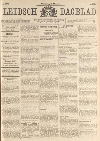 Leidsch Dagblad 1915-03-09
